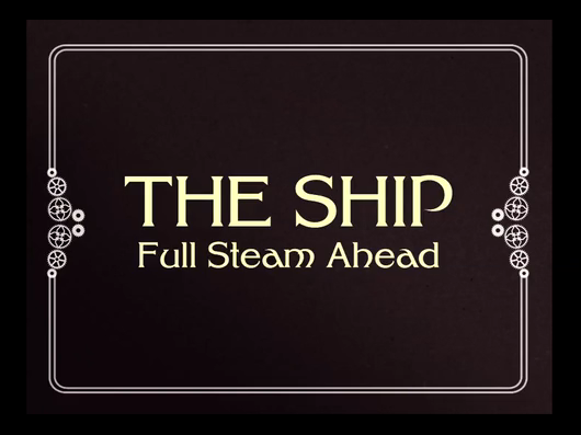 The Ship Full Steam Ahead is a steampunk murder game on Kickstarter