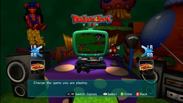 Sega shows commitment to retro games, even Toejam & Earl