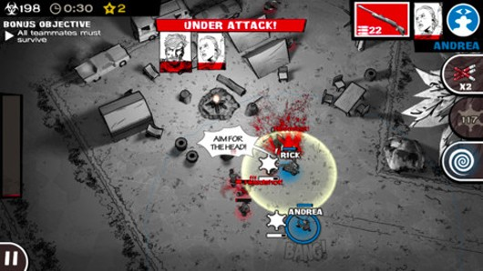 The Walking Dead Assault rushes iOS
