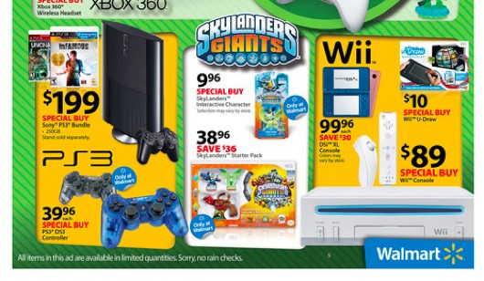 Walmart Black Friday deals include cheap consoles, very cheap games, confusing uDraw offers