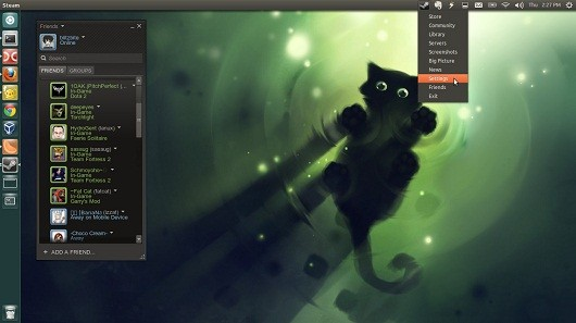 Steam Linux beta now available