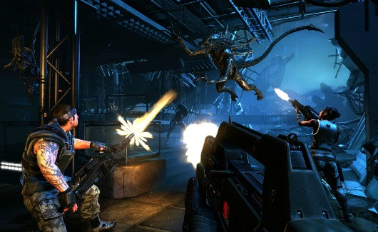Sampling the wily and aggressive AI in Aliens Colonial Marines
