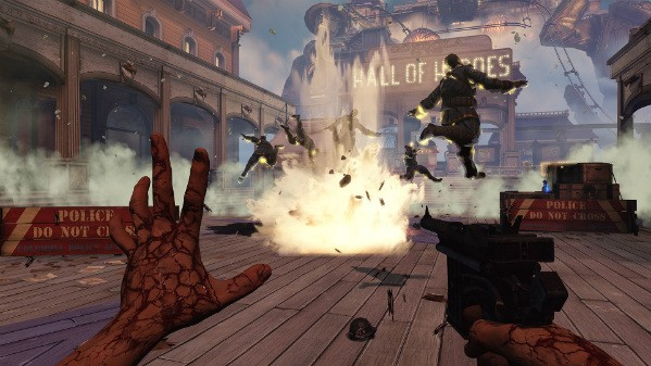 Exorcising demons with blind faith in BioShock Infinite