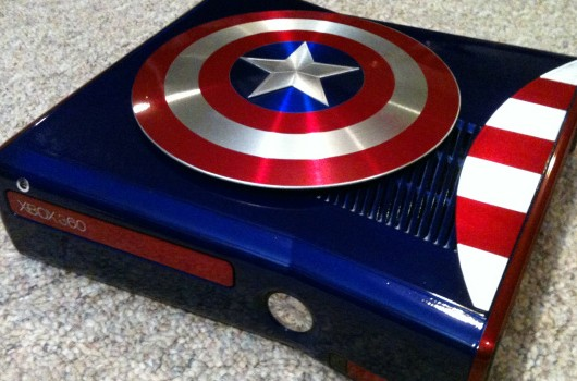 Captain America Xbox 360 mod stands up for freedom