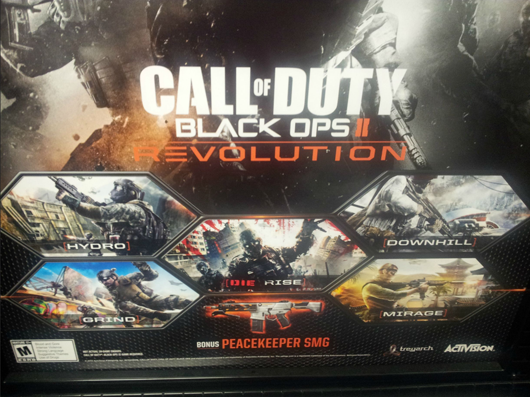 Rumor Black Ops 2 'Revolution' coming January 29, bringing zombies with it
