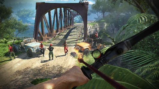 Far Cry 3 is king of the jungle in final UK charts week of 2012