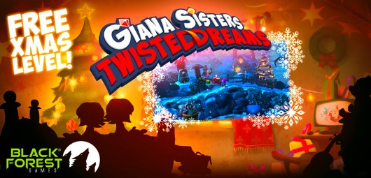 Giana Sisters Twisted Dreams offers free standalone Xmas level