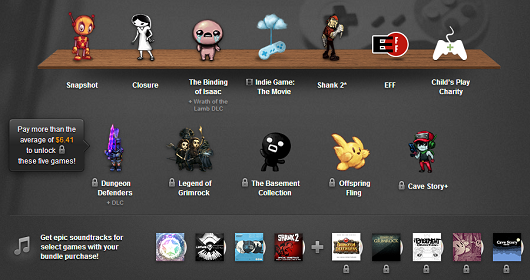 Humble Indie Bundle 7 adds The Basement Collection, Offspring Fling, Cave Story
