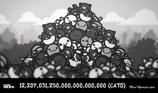 MewGenics to hoard over 12 sextillion cats