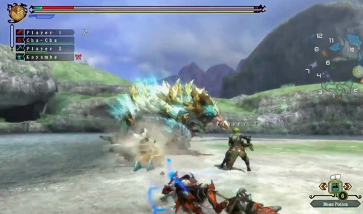 Monster Hunter 3 Ultimate videos show 3 monsters being hunted