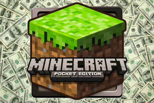 Minecraft Pocket Edition sales up to 5M, franchise sales over 175M