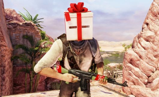 Uncharted 3 multiplayer celebrates the holidays