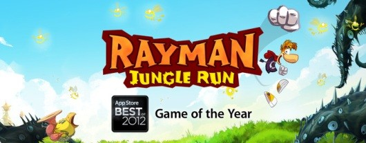 Rayman Jungle Run grabs App Store's GOTY award
