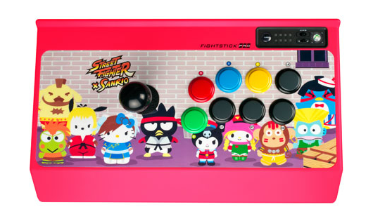 Street Fighter X Sanrio line from Mad Catz includes arcade stick, iPhoneiPad cases