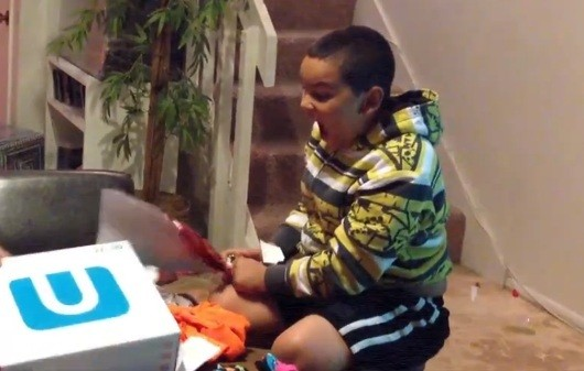Wii U Xmas tears of unbridled joy remind us of N64 Kid