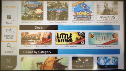 Wii U indies on sale on eShop