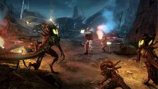 Aliens Colonial Marines hits Wii U Q1