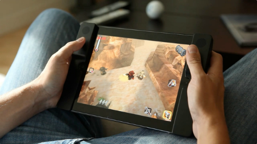 Audojo is a twinstick iPad case on Kickstarter