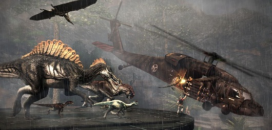 Free Primal Carnage DLC, Get to the Chopper, rushes to Steam today