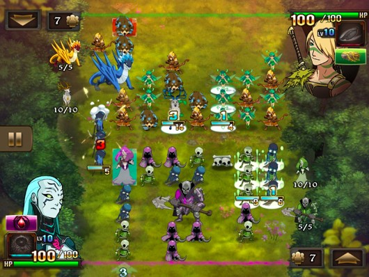 Clash of Heroes iOS