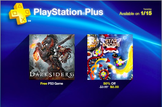 Darksiders gives free rides on PS Plus