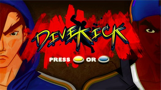 Minimalist fighter Divekick dives, kicks PS3, PC, Vita this spring