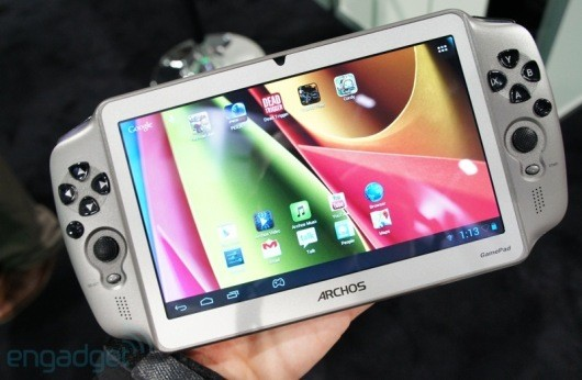 Engadget goes handson with the Archos Gamepad
