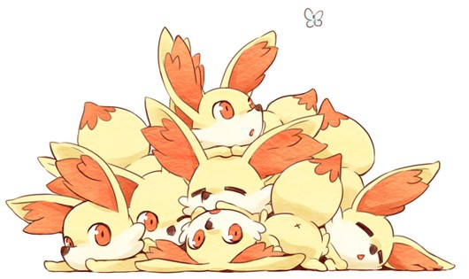 Pokemon XY's Fennekin is clearly the Internet favorite