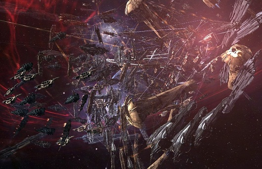 EVE Online battle with 2,800 players, in pictures