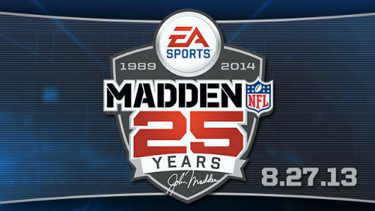 Madden 14 dated, possibly renamed Madden 25