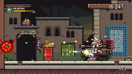 Mercenary Kings on display at IGDA Demo Night, PAX East, this gallery
