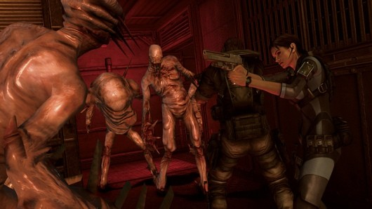 Resident Evil Revelations isn't on Vita because of its ittybitty screen