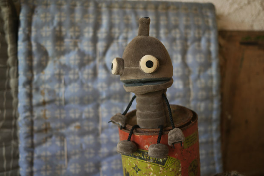 Machinarium plushie now available for preorder