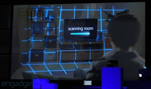 Microsoft's Illumiroom tech shows what could be