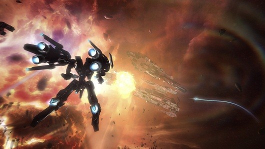 Kickstarter supported game Strike Suit Zero avialable now