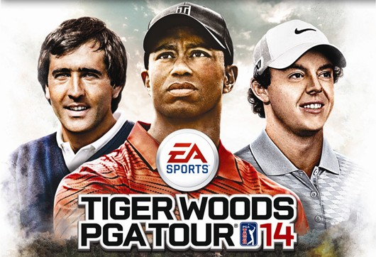 Seve Ballesteros, Rory McIlroy on Euro PGA Tour 14 cover