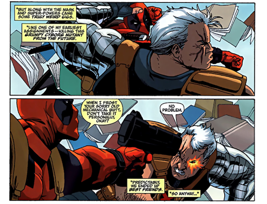 Deadpool game features Cable