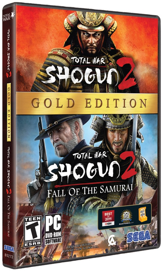 Total War Shogun 2 gold edition coming March 5
