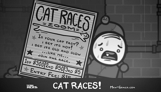 MewGenics reveals the sordid world of sewer cat racing