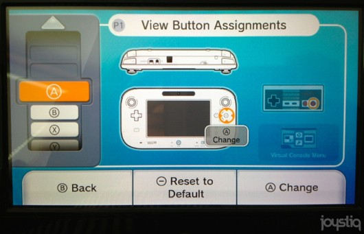 Wii U Virtual Console features fully customizable controls