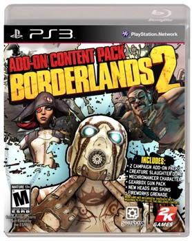 Borderlands 2 addon content pack features game plus first two DLC, out February 26