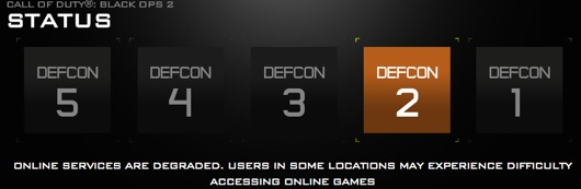 Black Ops 2 online play down on Wii U