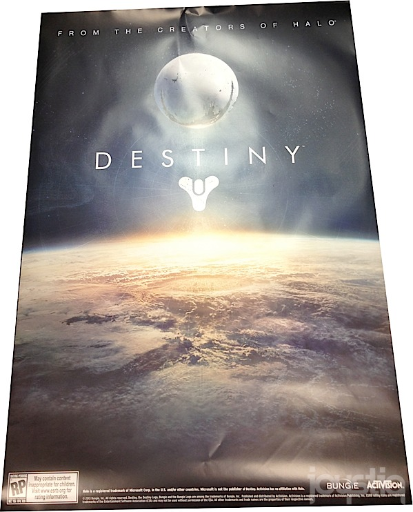 Bungie's Destiny posters arriving at GameStop