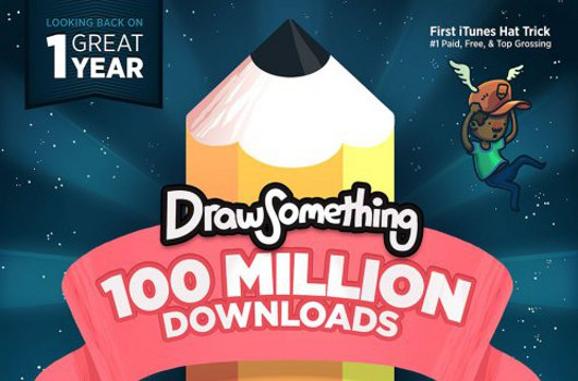 Draw Something crests 100 million downloads after one year