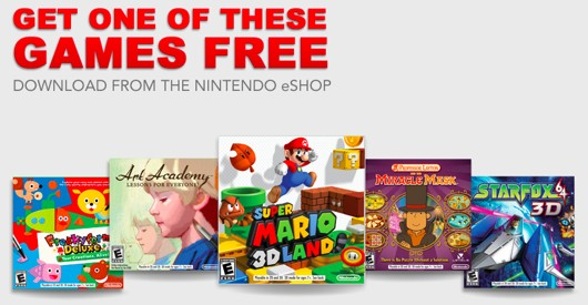 Code Free Nintendo 3DS XL Games