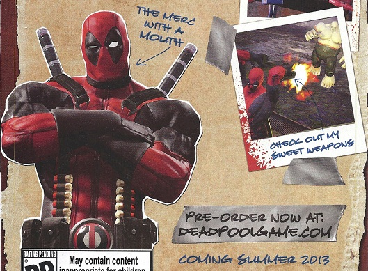 Deadpool sneaks in a summer 2013 launch window