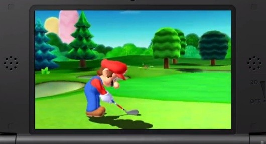Mario Golf World Tour tees off on 3DS this summer