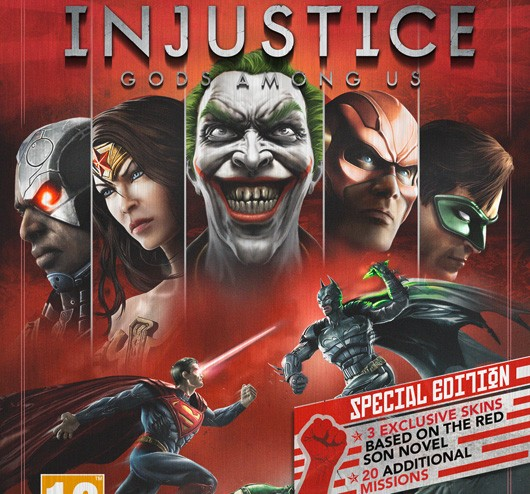 uk gets injustice gods among us special edition with red
