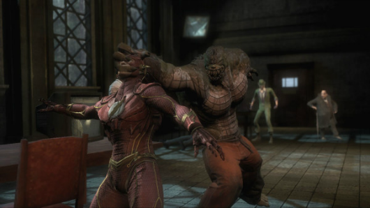 Looks like Killer Croc is in Injustice Gods Among Us