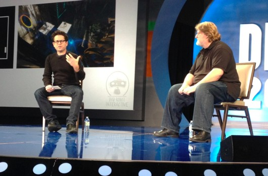 Newell Valve looking to make Portal or HalfLife move with JJ Abrams